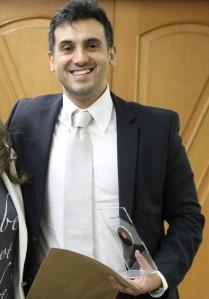 Júlio Cerca Serrão foi escolhido como egresso homenageado da Graduação por meio de votação entre alunos e ex-alunos.